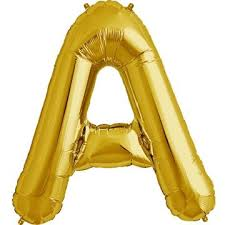 Balloon Foil A Gold Giant