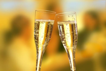 10 Glasses Plastic for champagne 100ml