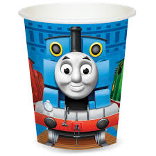 8 Cups Paper Thomas and Friends 266 ml