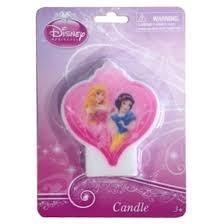 Candle Birthday Disney Princess Sparkle