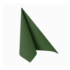 "50 Napkins Dark Green ""ROYAL Collection"" Medium"