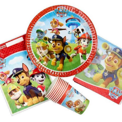 8 Piece Party Pack Paw Patrol