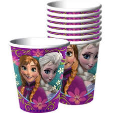 8 Cups Paper Disney Frozen