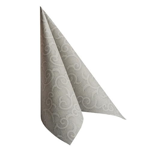 "50 Napkins Grey ""Casali"" ""ROYAL Collection"" Large"