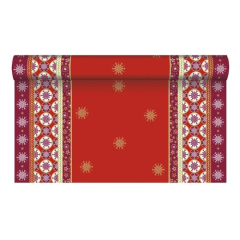 "Tablerunner Airlaid ""X-mas Composition"" 3m x 40cm"