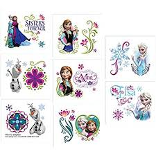16 Temporary Tattoos Frozen