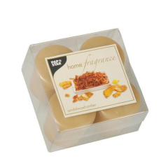 4 Scented Minis Sandalwood Amber 45 x 52 mm