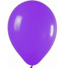 25 Balloons Latex Fashion Purple