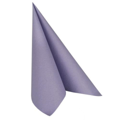 "20 Napkins Lilac ""ROYAL Collection"" Large"