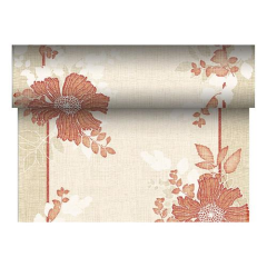 "Table Runner Tissue Rust ""Annabel"" ""ROYAL Collection"" 24m x 40cm Roll"