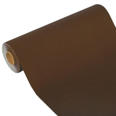 "Table Runner Tissue Brown ""ROYAL Collection"" 24m x 40cm Roll"