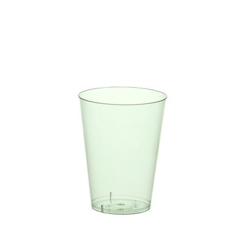 15 Cups Plastic Drinking 200ml - Light Green