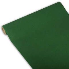 "Table Runner Tissue Dark Green ""ROYAL Collection"" 3m x 40cm Roll"