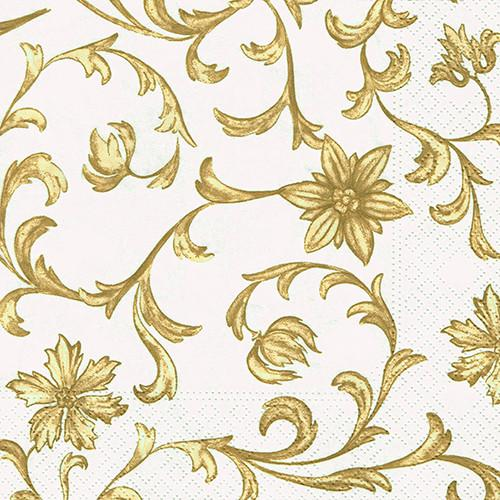 "20 Napkins ""Ornamental Flowers"" Medium"