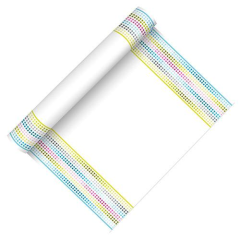 "Table Runner ""Equalizer Trend; cloth-like; Airlaid 3m roll"