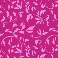 "30 Napkins; 3-ply 1/4 fold 33 cm x 33 cm fuchsia ""Ornamental Leaves"""