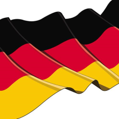 "50 Napkins ""Germany"" Medium"