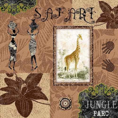 "20 Napkins ""Jungle Parc"" Medium"