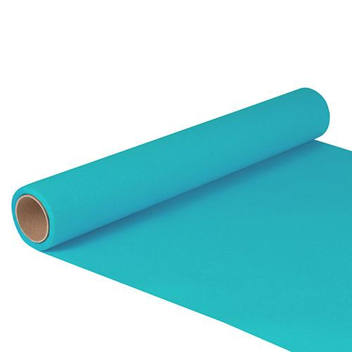 "Table Runner Tissue Turquoise ""ROYAL Collection"" 5m x 40cm Roll"