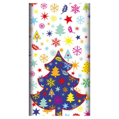 "Tablecloth Cloth-like Airlaid 1.2m x 1.8m ""Happy Tree"""