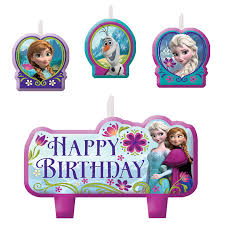 Candles Birthday Set Disney Frozen