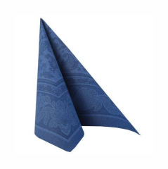 "50 Napkins Dark Blue ""Ornaments"" ""ROYAL Collection"" Large"