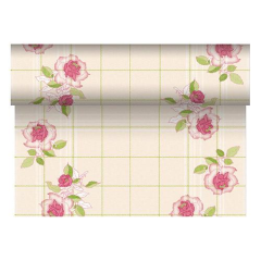"Table Runner Tissue Pink ""Berryrose"" ""ROYAL Collection"" 24m x 40cm Roll"