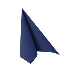 "50 Napkins Dark Blue  ""ROYAL Collection"" Medium"