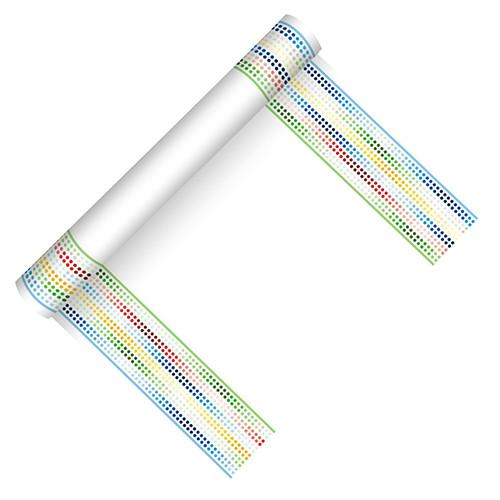 "Table Runner ""Equalizer Classic"" Cloth-like Airlaid 3m Roll"