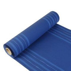 "Table Runner Tissue ""Blue Curl"" ""ROYAL Collection"" 24m x 40cm Roll"
