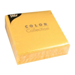 "100 Napkins Yellow ""Colour Collection"" Medium"