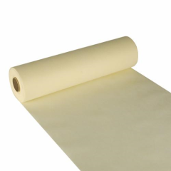"Table Runner Cloth-like Cream ""soft selection"" 24m x 40cm Roll"