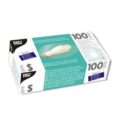 100 Nitril Gloves Powderfree white Small