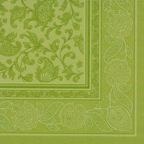 "20 Napkins Olive Green ""Ornaments"" ""ROYAL Collection"" Large"
