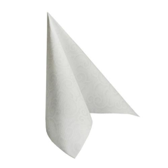 "50 Napkins White ""Casali"" ""ROYAL Collection"" Large"