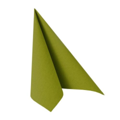 "50 Napkins Olive Green ""ROYAL Collection"" Large"