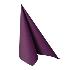 "50 Napkins Purple ""ROYAL Collection"" Medium"