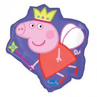 Balloon Foil Peppa Pig Super Shape 53cm x 56cm