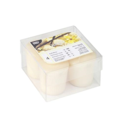 4 Scented Minis Ivory Vanilla 45 x 52 mm