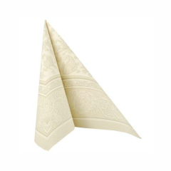 "50 Napkins Champagne ""Ornaments"" ""ROYAL Collection"" Large"
