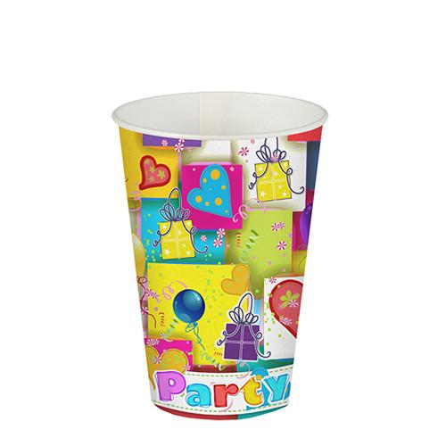"10 Cups Paper ""Party Mix"" 200ml"