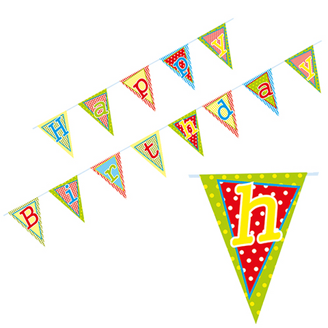 Bunting Happy Birthday