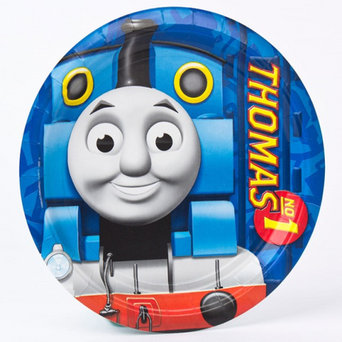 8 Plates Paper Thomas and Friends