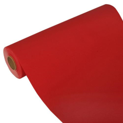 "Table Runner Tissue Red ""ROYAL Collection"" 24m x 40cm Roll"