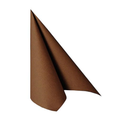 "20 Napkins Brown ""Royal Collection"" Large"
