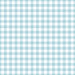 "30 Napkins; 3-ply 1/4 fold 33 cm x 33 cm light blue ""Vichy"""