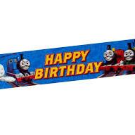 Banner Birthday Thomas & Friends 1.5m x 30cm