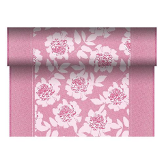 "Table Runner Tissue Fuchsia ""Adele"" ""ROYAL Collection"" 24m x 40cm Roll"