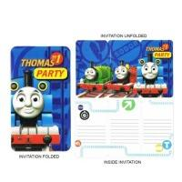 8 Invitations Thomas and Friends