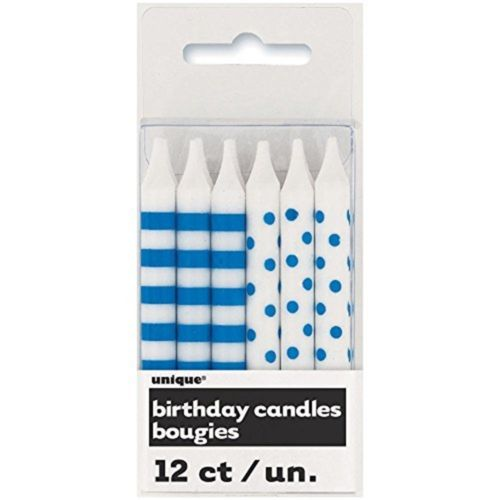 12 Candles Birthday Small Blue Spot